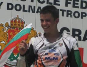 Ангел Караньотов спечели злато на европейския шампионат по супермото