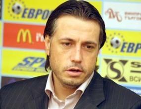 След разгрома над Локо (Пд): Иво Тонев с претенции към съдията
