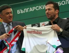 Матеус: Искам Бербатов - за него трябва да е чест да играе за България