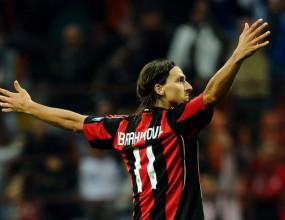Милан се върна към победата със супергол на Ибра (видео)