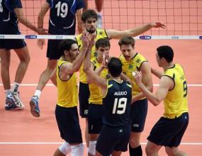 Резултати от първите срещи на световното първенство по волейбол
