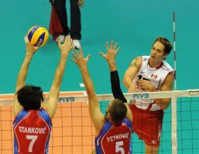 Изненада №1! Канада удари Сърбия с 3:1 в Триест