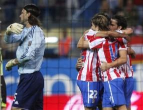 Атлетико (Мадрид) с труден успех над Сарагоса (видео)