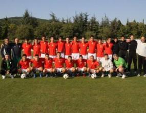 Юношите стартират евроквалификациита с мач срещу Гърция днес