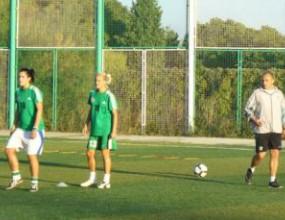 Илиан Илиев популяризира женския футбол в Стара Загора