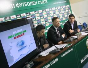 Тервел Златев: Имаме много сериозни шансове да се преборим с Англия за Евро 2013