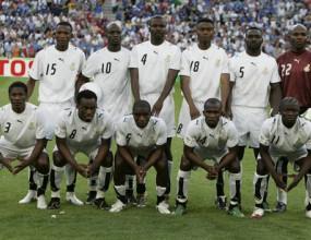 Спряха футбола в Гана