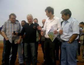 ФИА инспектира индийската писта