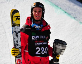 Ски-пайп шампионът на DEW TOUR 2011 е Кевин Ролан