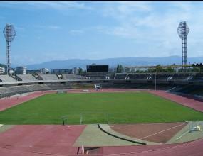 """Стадион """"Пловдив"""" арена на представянето на Локо (Пд)"""