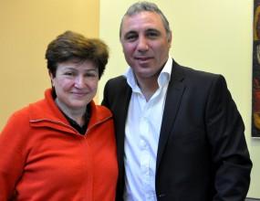 Щастлива съм да работя с Христо Стоичков, твърди Кристалина Георгиев