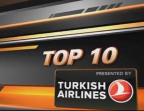 Гледайте Топ 10 на изпълненията от последния кръг в Евролигата