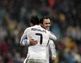 Реал Мадрид диша във врата на Барса (видео)