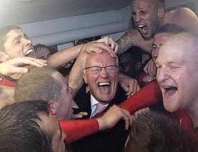 Лейтън Ориент в Лас Вегас след равенството с Арсенал