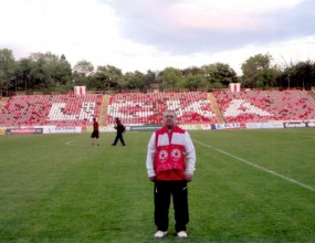 Озвучителят на ЦСКА чукна 61