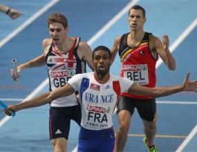Французите с рекорд и на 4 по 400 м
