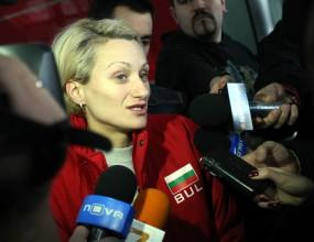Дачева: Нямам проблем да тичам в горите, но ни трябва и зала