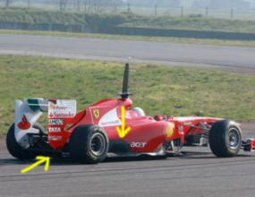 Ферари копират Ред Бул, тестват нова изпускателна система