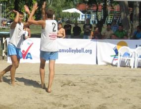 Станков и Кацаров оглавиха групата си след първия ден на Балканиадата по плажен волейбол
