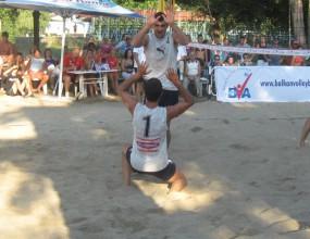 Костадинов и Йорданов на полуфинал на Балканиадата по плажен волейбол в Кърджали