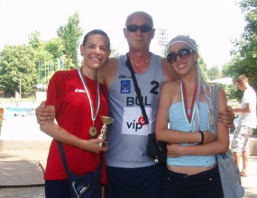 Двойка на Марица отпада от полуфиналите на Балканиадата по плажен волейбол