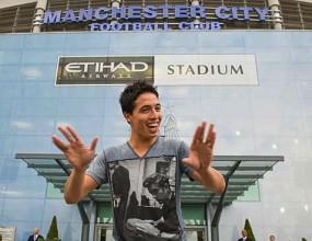 Насри вече е играч на Ман Сити, подписа за четири години (видео)
