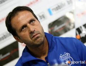 Страх в треньора на Стяуа - махат го при загуба от ЦСКА