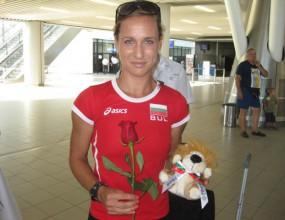 Инна Ефтимова тръгна за Дегу с амбиция за личен рекорд на 100 метра