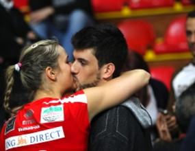 Нова волейболна двойка! Факундо Конте и Хелена Хавелкова