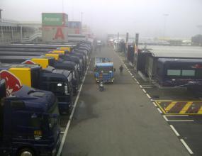 Гъста мъгла забави старта на втория тестови ден в Барселона