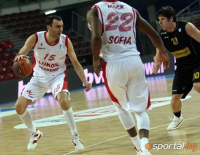 Лукойл Академик победи Черноморец в тренировъчно темпо