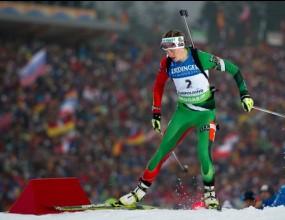 Домрачова донесе първо злато за Беларус от световното по биатлон