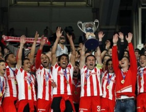 Олимпиакос спечели 25-та си купа на Гърция