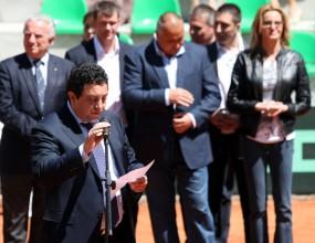 Официално откриха обновената тенис база в София