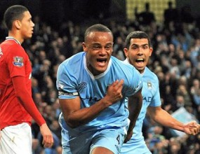 Драмата ще е пълна! Ман Сити надигра и задмина Юнайтед на върха! (видео + фотогалерия)