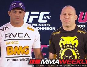 Силва - Белфорт на UFC 147