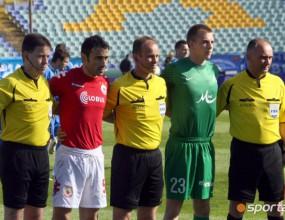 Два мача с един рефер - как Йорданов свири на ЦСКА срещу Левски и преди 3,5 години в Сливен (видео)
