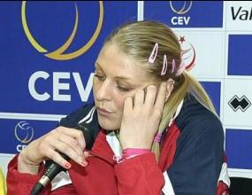 Страшимира Филипова: Не успяхме да покажем истинската си игра