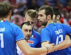 Италия тренира в смях и закачки в Монца за турнира в София (ВИДЕО)