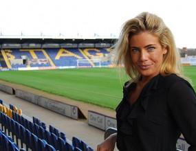 Най-секси шефката в английския футбол - арестувана!