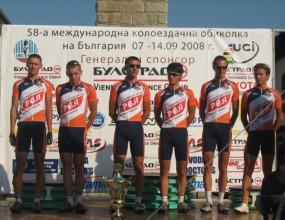 """Цар Симеон"" привлече трима сръбски колоездачи"