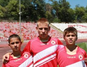 Младите армейци мачкат в Швеция - вкараха 19 гола за четири мача