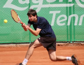 Александър Лазов се класира за четвъртфиналите на сингъл