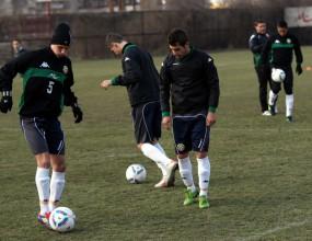 Продължава подготовката на юношеските национални отбори