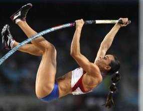 Провал за Исинбаева седмица преди Олимпиадата