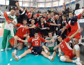 Младежите на България в група с Дания, Германия, Гърция, Испания и Турция на Евроволей'2012