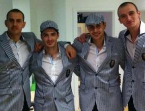 Волейболистите премериха олимпийските си костюми