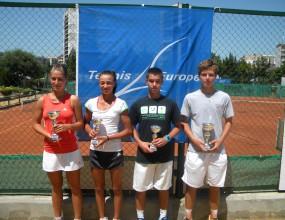Габриела Михайлова с трета поредна титла от международен турнир