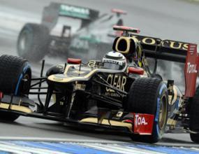 Райконен се надява на суха Гран при на Германия
