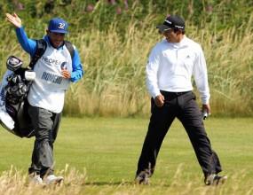 Тевес внесе смут в голф средите